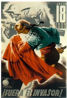 Click any image to enlarge The Spanish Civil War was an ideological conflict that presaged WWII. It pitted fascists, royalists, and con. Ww2 Posters, Political Posters, Cool Posters, Revolution Poster, Fernando Vii, Spanish War, Spanish Posters, Ww2 Propaganda, Spanish Culture