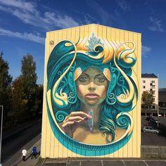 Prosperity by WD Street Art Kemi Finland 2016
