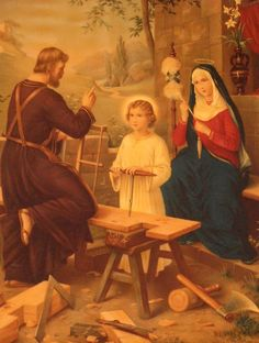 Hl. Familie Religious Pictures, Catholic Art, St Joseph, Working With Children, Sculpture, Reyes, Kirchen, Virgin Mary, Christian Quotes