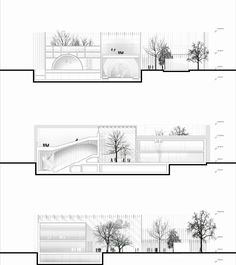 Gallery of MenoMenoPiu Proposes a Circular Form for the House of Hungarian Music - 12 http://www.archdaily.com/641789/menomenopiu-proposes-a-circular-form-for-the-house-of-hungarian-music