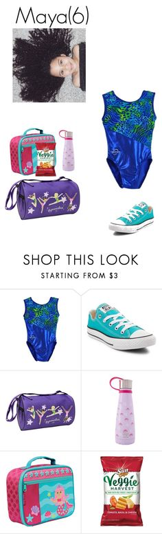 """""""Gymnastics practice(6.26.17)"""" by mayas-polyfam ❤ liked on Polyvore featuring Converse, Freestyle, S'well, Stephen Joseph and thelovellfam"""