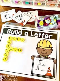 Letter Recognition and Alphabet Activities for Kindergarten helping teachers captivate little learnersLetter Recognition and Alphabet Activities for KindergartenLearning recognition and letter sounds Abc Centers, Kindergarten Centers, Kindergarten Activities, Letter Activities, Literacy Activities, Letter Assessment, Learning Letters, Alphabet Games, Abcs