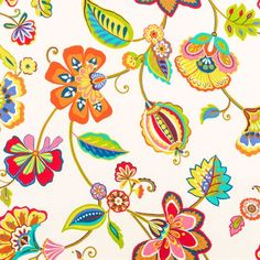Coloful Floral Table Runner Nature Rustic Home Decor Yellow Red Green Floral Garden Table Runner Table Centerpiece Dining Table Linens Orange Curtains, Leaf Curtains, Bird Prints, Leaf Prints, Hobby Lobby Fabric, Nautical Curtains, Cottage Curtains, Custom Valances, Free Fabric Samples