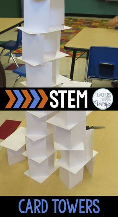 STEM Challenge for elementary students! Your kids will love this one. You will love this one, too because of 5 simple things! It uses only one material. Preparation is super easy. It works for all ages. It's highly engaging because it's so competitive. Clean up is super simple. It's a perfect STEM Challenge for any time of year and the resource has a bonus challenge included! This is one you will try and then repeat year after year! Editable lab sheets and rubric included.