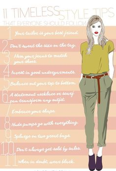 Timeless Style Advice