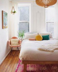 Home Bedroom, Bedroom Decor, Bedrooms, Bedroom Ideas, Master Bedroom, Estilo Interior, Indian Home Decor, House Rooms, New Room