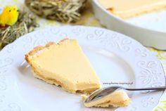 Tarta cytrynowa na cieście pâte sablée poleca się na Wielkanoc | Qchenne Inspiracje Cheesecake, Food, Cheese Pies, Cheesecakes, Meals, Yemek, Cherry Cheesecake Shooters, Eten