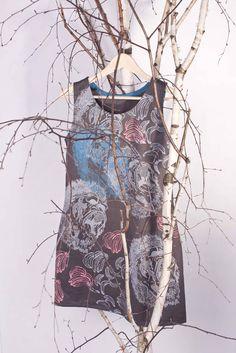 GORILLA dress by surface designer www.justynamedon.com