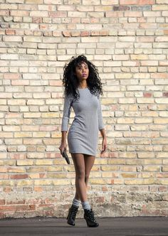 BlasianGurl, Victoria Kristine, Dynamite Clothing, Jacquard Bodycon, Toronto Blogger, Fashion, Fashion Blogger, Fall Fashion