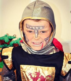 Dress up at school today as a scary zombie knight (his idea ) to celebrate Carnaval in Portugal #carnaval #carnival #familytravel