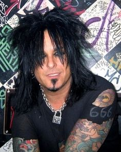 Nikki Sixx - Motley Crue if he could just come live with me hate be great