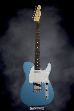 Fender American Vintage '64 Telecaster (Lake Placid Blue) | Sweetwater.com This one is sweet too! Reimagining of a model from my birth year.