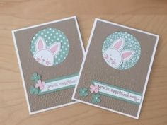 Easter card using Friends & Flowers stamp set from Stampin'Up! - YouTube