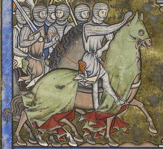 MS M. 638 TitleMorgan Crusader Bible / St. Louis Bible DateParis, France, ca. 1244-1254. Folio: 33v