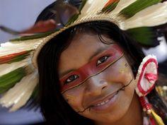 pintura indigena urucum - Pesquisa Google