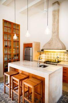 ausgefallene Küche von Taller Estilo Arquitectura