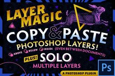 Ad: LayerMagic-PS Plugin by Haäfe & Haph on I've waited over 15 years for these features to be built into Photoshop, so I built them myself! --- Be sure to watch the video to see it in Photoshop Plugins, Best Photoshop Actions, Photoshop Elements, Texture Web, Design Typography, Flyer, After Effects, Marketing Materials, Logo Design Inspiration