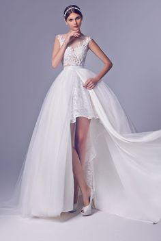 Rico a mona wedding gown amy white