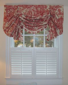 Our beautiful cafe shutters allow privacy while still having light shine in your home. Add a valance for that added color and privacy. Kitchen Window Coverings, Bathroom Window Treatments, Bathroom Windows, Kitchen Curtains, Shutters With Curtains, Window Shutters, Cafe Style Shutters, Traditional Shutters, Best Interior Design Websites
