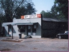 B's BBQ...on my husbands family's land and by far some of the best BBQ I have ever tasted. YUM
