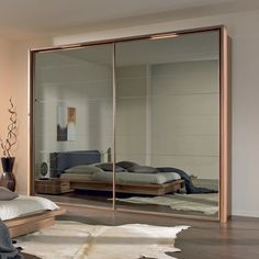 Leading 13 Storage Room Door Concepts to Attempt to Make Your Room Tidy and Sizable Wardrobe Design Bedroom, Bedroom Furniture Design, Sofa Furniture, Mirrored Wardrobe Doors, Home Bedroom, Bedroom Decor, Bed Design, Dressing, Living Room Designs