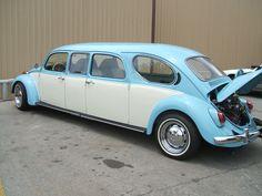 Volkswagen Beetle stretch limousine...
