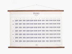 Piano Chords Hanging