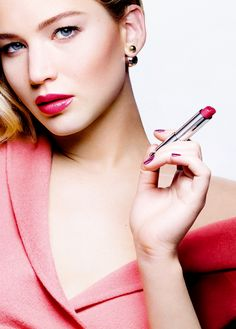 Jennifer Lawrence for Dior Addict Lipstick (2015)