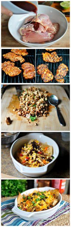 Southwest Chicken Nachos Recipe!