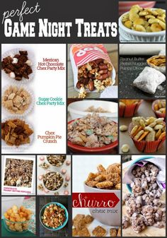 10+ Recipes Perfect for Game Night AND Games to Play!