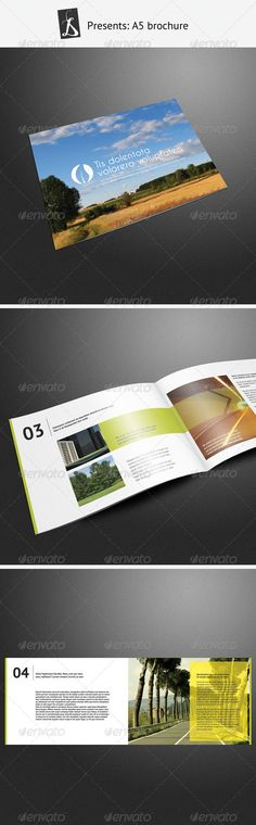 A5 Brochure 2 - Corporate Brochure Template InDesign INDD. Download here: http://graphicriver.net/item/a5-brochure-2/276606?s_rank=737&ref=yinkira