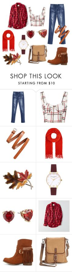 """American Girl"" by mnewall ❤ liked on Polyvore featuring PatBo, H&M, Accessorize, Anne Klein, Topshop, Betsey Johnson, American Eagle Outfitters and The Same Direction"