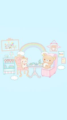Rilakkuma Wallpaper, Kawaii Wallpaper, Old Cartoons, Cardcaptor Sakura, Cute Images, Cute Characters, Phone Wallpapers, Sailor Moon, Pokemon