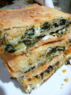 Spanakopita, Greek Recipes, Recipies, Food And Drink, Dinner, Cooking, Breakfast, Ethnic Recipes, Easy