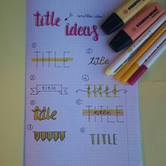 ||§ Bullet Journal 2019, Stabilo Boss, Hand Lettering Fonts, Cute Notes, Sketch Notes, My Diary, School Notes, Study Inspiration, Study Notes