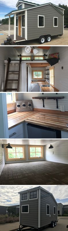 Sparty's Cabin: a 177 sq ft tiny house, designed and built by students at Michigan State University