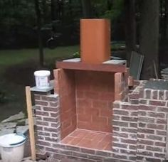 Check Out How To Build An Outdoor Fireplace At Https://homesteading.com