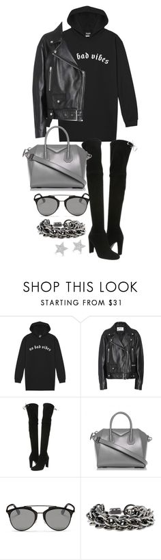 """Untitled #22180"" by florencia95 ❤ liked on Polyvore featuring Acne Studios, Stuart Weitzman, Givenchy, Christian Dior, Burberry and Diamond Star"