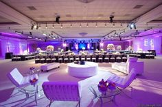 Modern luxe wedding reception, flowers by Southern Event Planners, Memphis weddings