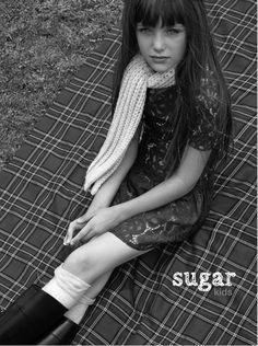 Abril de Sugar Kids para Editorial Marie Claire