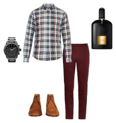 """Button down babe"" by syledbyallief on Polyvore featuring Gucci, Paul Smith, Diesel and Tom Ford"