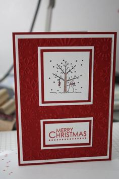 Winter/Christmas by kyann22 - Cards and Paper Crafts at Splitcoaststampers