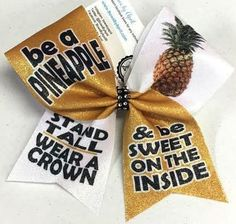 Bows by April - Be a Pineapple Stand Tall Wear a Crown