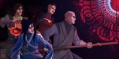 galileo (horizon on the middle of nowhere) VS the red lotus (avatar lok) Avatar Legend Of Aang, Korra Avatar, Team Avatar, Legend Of Korra, The Last Avatar, Avatar The Last Airbender, Final Fantasy Anime, Avatar Characters, Fictional Characters