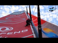 Volvo Ocean Race 2014 / 2015 : Flying Cows and Everything! Volvo Ocean Race, Abu Dhabi, Everything, Racing, Yachts, Cows, World, Youtube, Thanksgiving