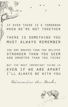 The best quote about friendship ever, from Christopher Robin to Winnie the Pooh. Love you Pooh! Life Quotes Love, Great Quotes, Me Quotes, Quotes Inspirational, Super Quotes, Family Quotes, Baby Quotes, Quotes For My Son, Nephew Quotes