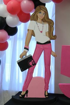 Alani's Barbie Fashion Doll Birthday Party! | CatchMyParty.com