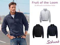 Das Sweatshirt von Fruit of the Loom ist genau der richtige Begleiter für die Herbstzeit! #FruitOfTheLoom