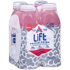 Atkins Lift Berry Protein Drink 4 x 16.9 fl oz (67.6 fl oz)