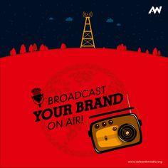 Ad Design, Logo Design, Radio Advertising, World Radio, Catalog Design, S Mo, Material Design, Printed Materials, Design Development